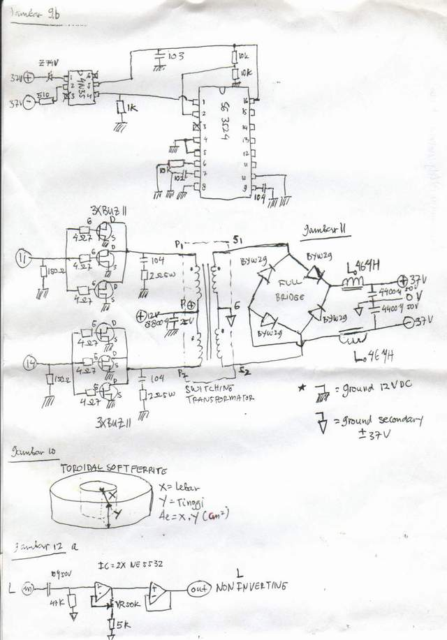 the design of car audio power amplifier