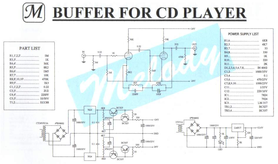 Tube buffer for a cd player - Page 2 - diyAudio