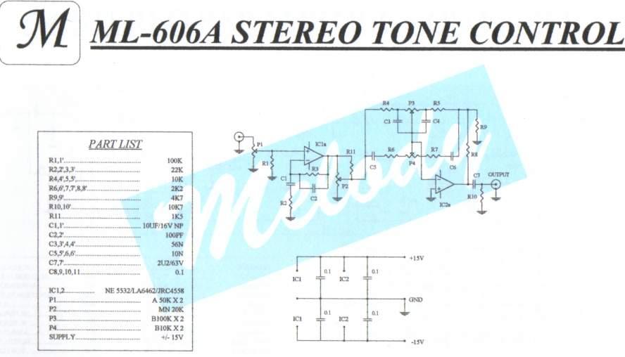 Simple Audio Tone Control Circuit – readingrat.net