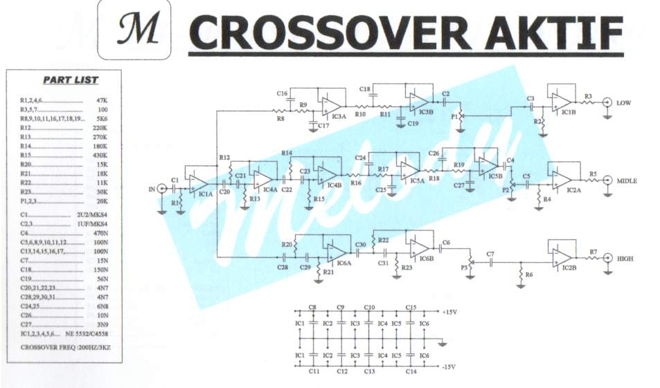 Active Crossover Wiring Diagram - Wiring Diagrams on